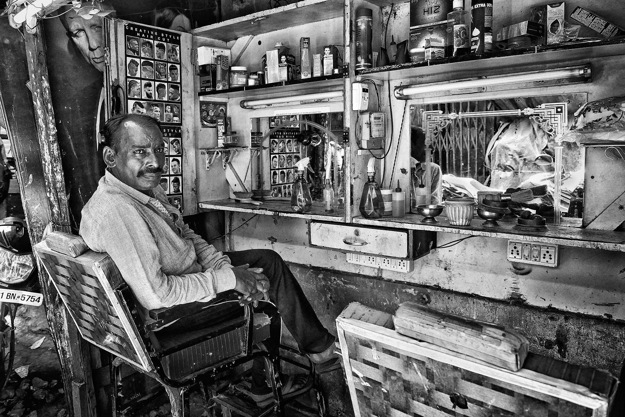 Le coiffeur du bidonville P1120523