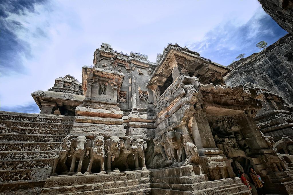 Le temple de Kailâsanâtha V  P1130517