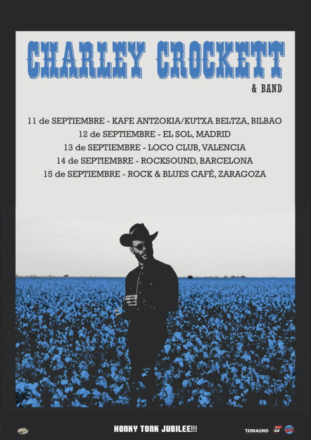 CHARLEY CROCKETT [Texas/country-soul] - Gira septiembre 2019 Charle11