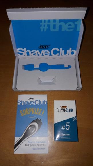Bic Shave Club 20190112