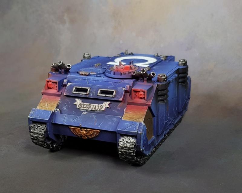 [ SM ] Ultramarines 40k  Rhino_16