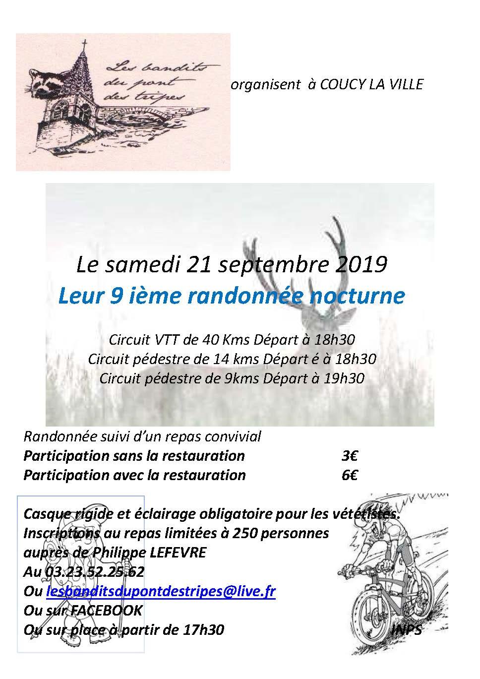 Nocturne Coucy La Ville - Samedi 21 Septembre Affich10