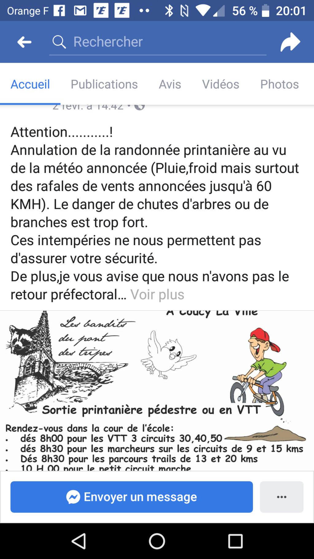Randonnée printannière des Bandits à Coucy la Ville 17/03/2019 Receiv10