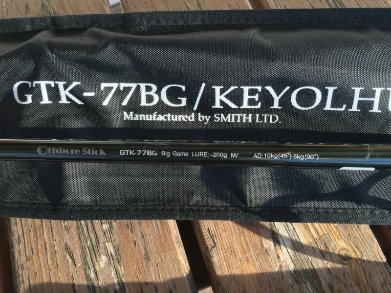[ VENDO ] canna popping al GT, SMITH GTK-77BG KEYOLHU Keyolh11