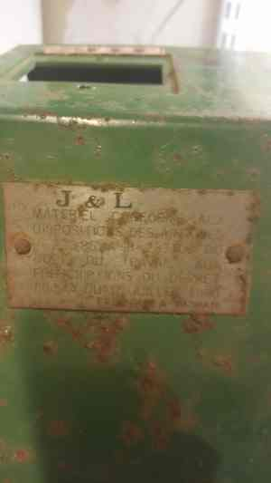 """Signification inscription interrupteur """"SUR / DE"""" Vieux110"""