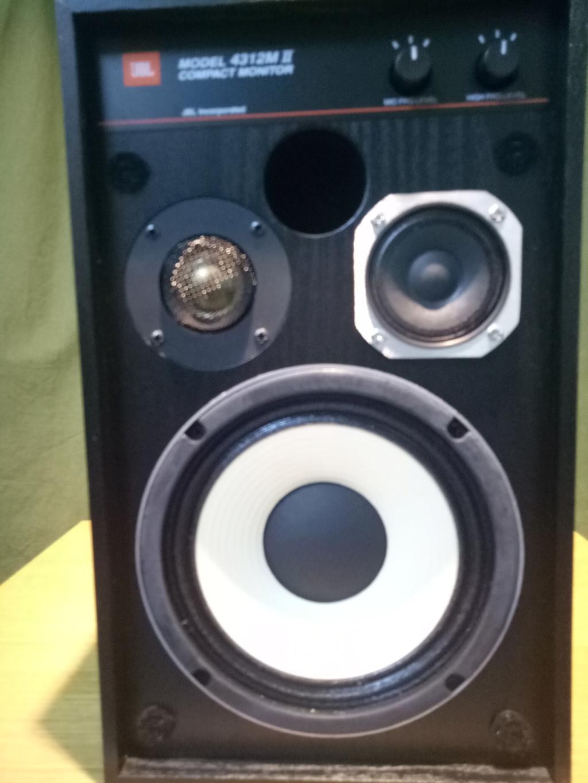 JBL 4312M mk2 compact monitor  Img20119