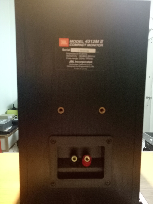 JBL 4312M mk2 compact monitor  Img20120