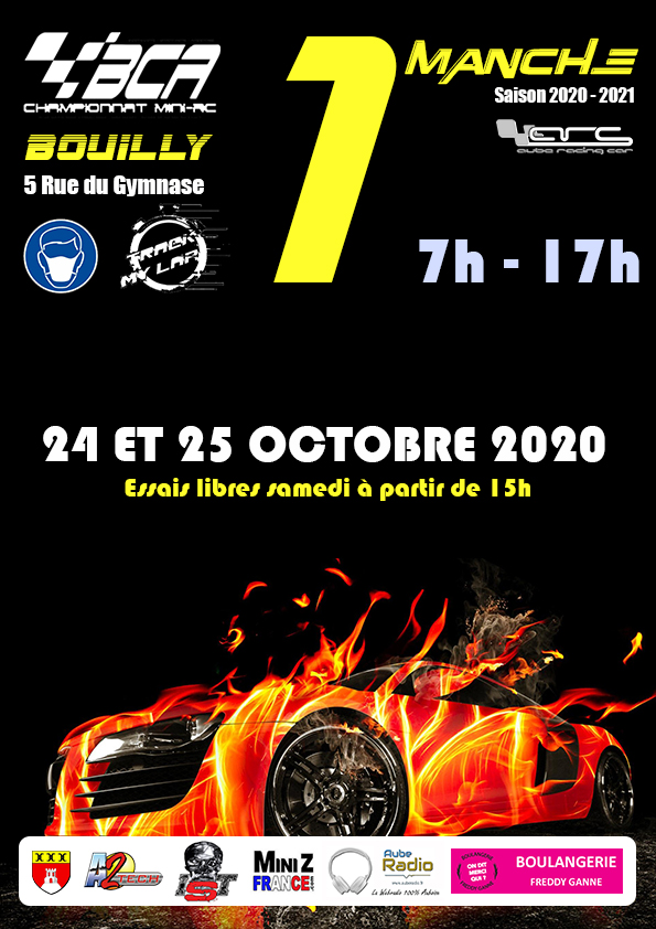 1° Manche du BCA-Bourgogne 2020-2021 Affich25