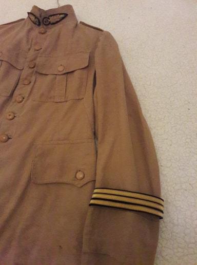 Identification vareuse coloniale officier  74298310