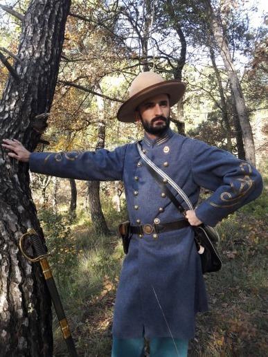 Officier d'infanterie confédérée  76776510