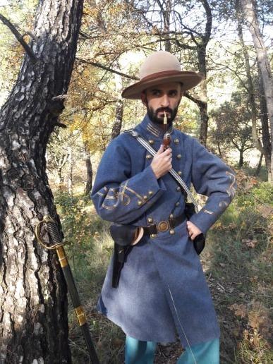 Officier d'infanterie confédérée  78381010