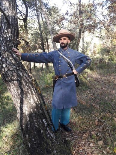 Officier d'infanterie confédérée  78384110