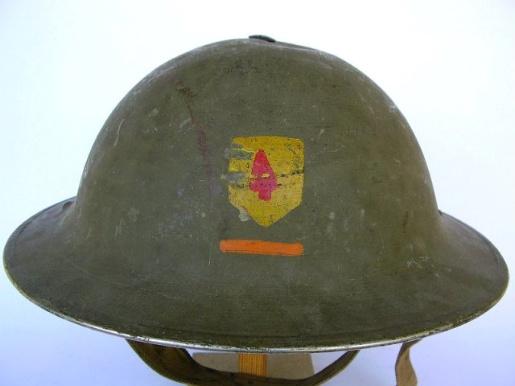 casque anglais, insigne Irlmk210