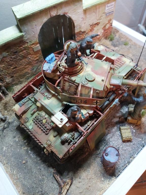 Panzer IV/J refueling  20200713