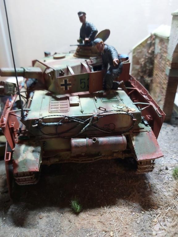 Panzer IV/J refueling  20200715