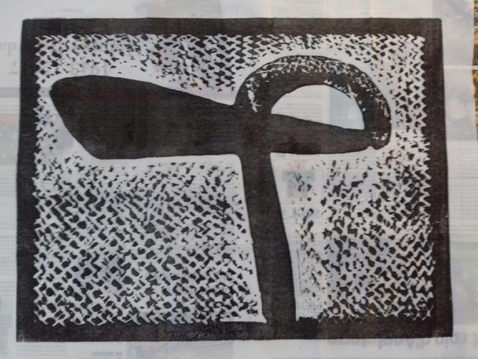 impression linogravure sur tissu polyster pour drapeaux Essai-10