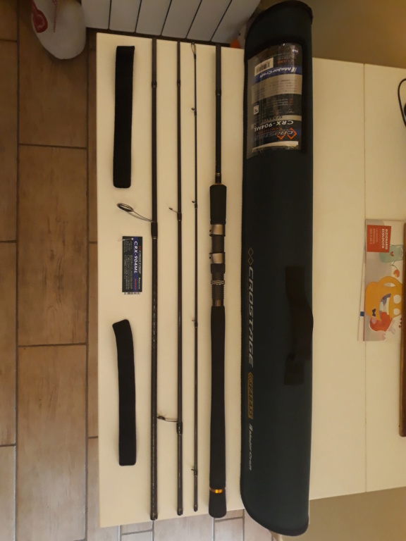 [VENDO][NUOVA] MajorCraft Crostage seabass CRX904ML 10-30gr in 4 pezzi 20190911