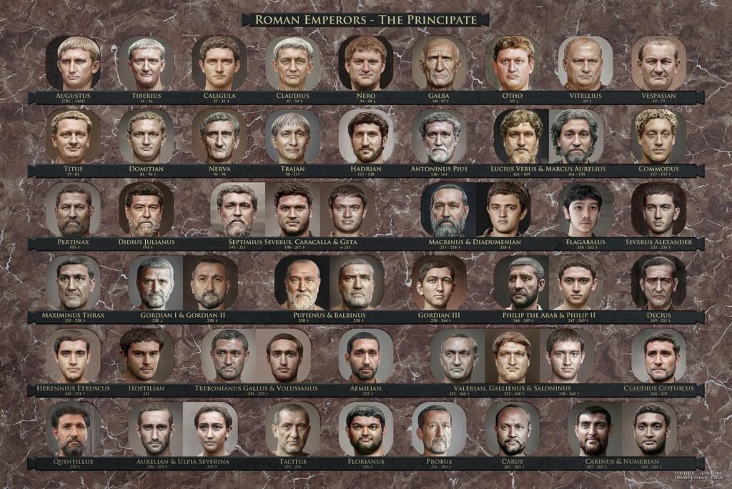 Le vrai visage des empereurs romains (reconstitution) 1_ikkp11
