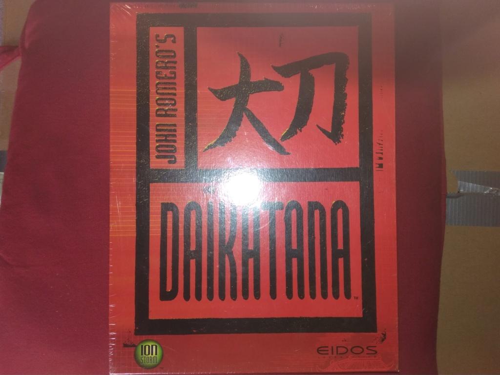 Brocante multi : Game Boy Advance loose - Daikatana sous blister Img_2073