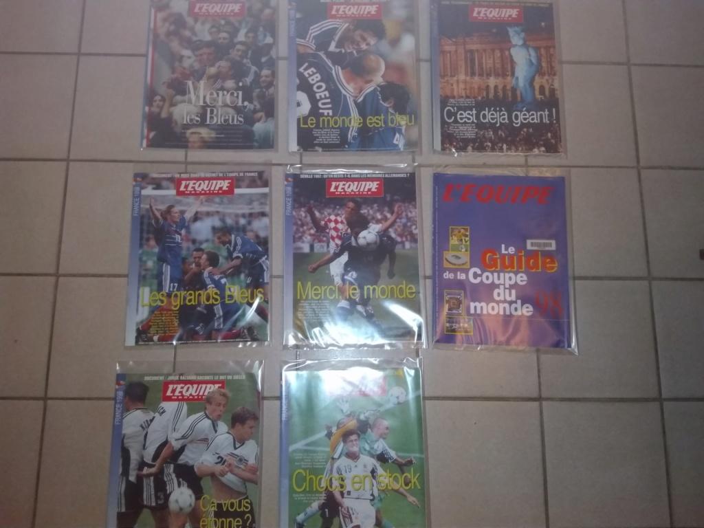 Vds : Magazines Coupe du Monde 98 neuf - bradé 50 in Faut que ça parte ;-) Img_2109