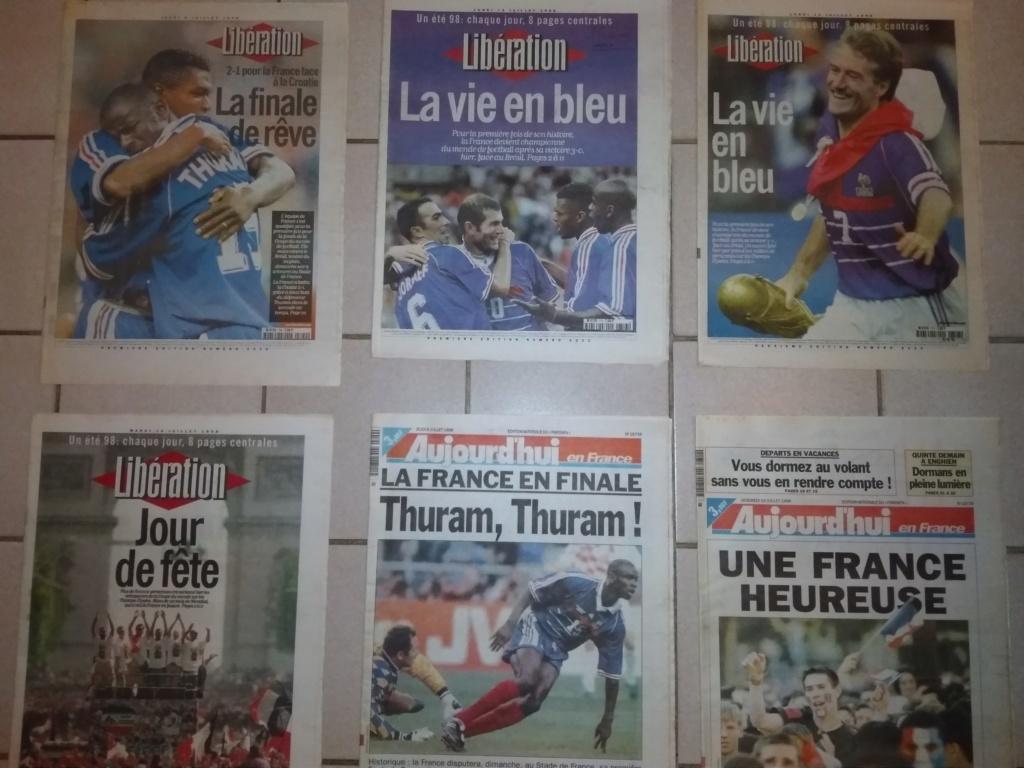 Vds : Magazines Coupe du Monde 98 neuf - bradé 50 in Faut que ça parte ;-) Img_2110