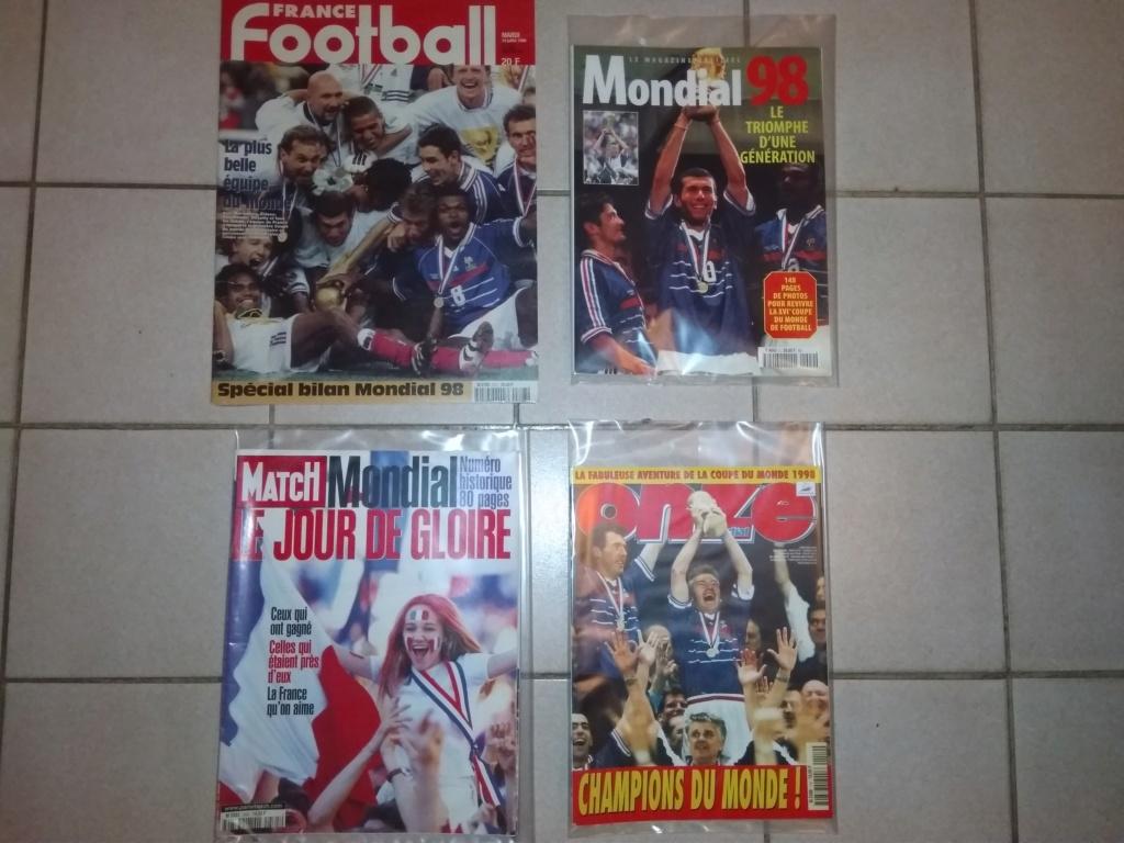 Vds : Magazines Coupe du Monde 98 neuf - bradé 50 in Faut que ça parte ;-) Img_2111