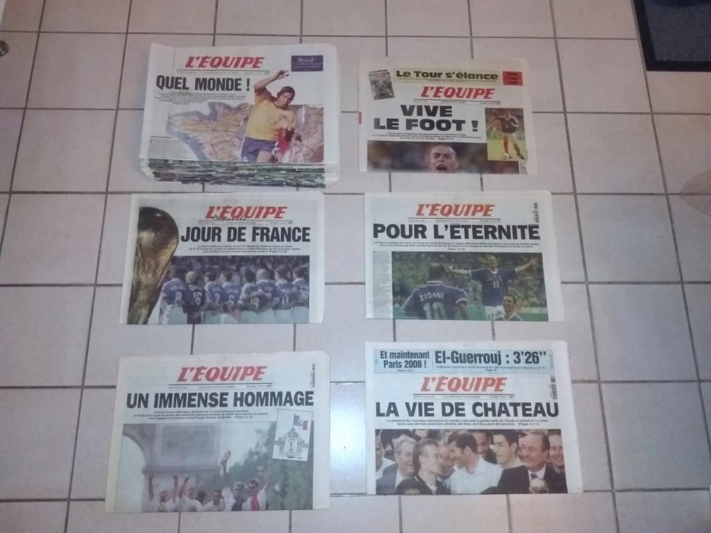 Vds : Magazines Coupe du Monde 98 neuf - bradé 50 in Faut que ça parte ;-) Img_2112