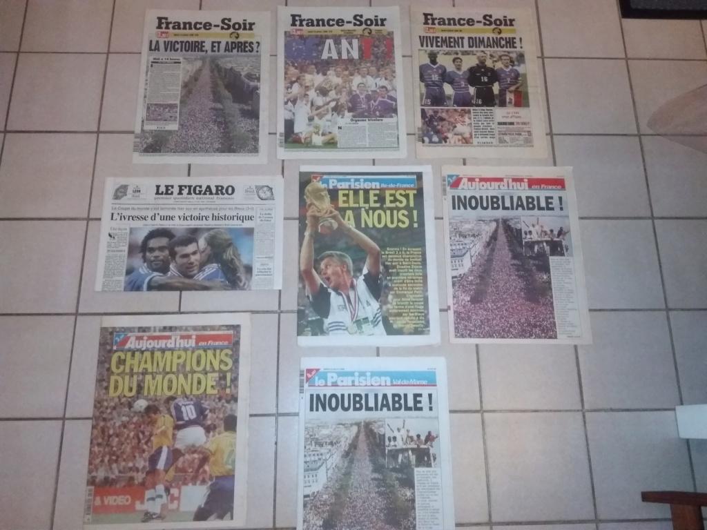 Vds : Magazines Coupe du Monde 98 neuf - bradé 50 in Faut que ça parte ;-) Img_2113
