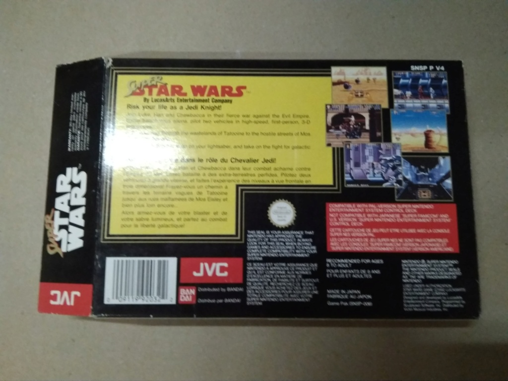 [Vds] Super Star Wars sur snes en boite - in Img_2128