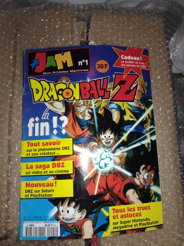 [Vendu] Magazine Jam N°1 Spécial DBZ- 40in Img_2135