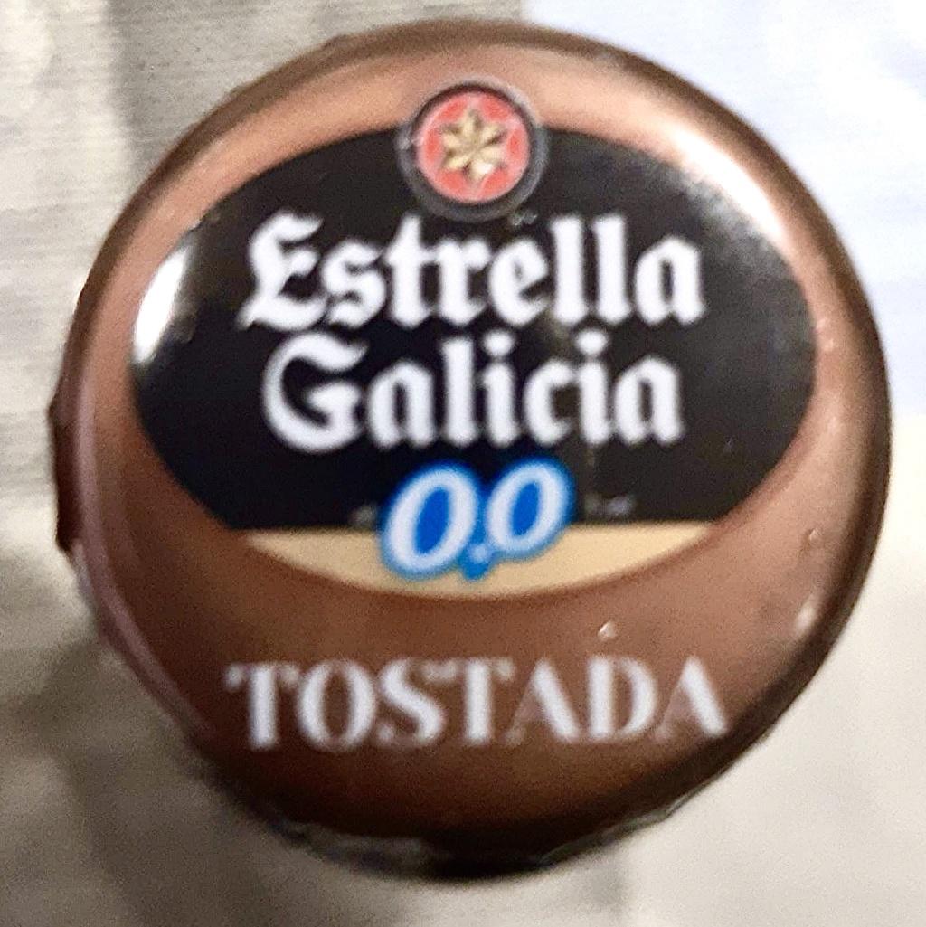 CERVEZAS-044-ESTRELLA GALICIA TOSTADA 0,0 Aaa8c810