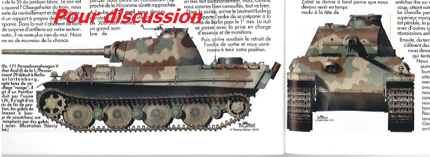 Hongrie 1945 diorama (Panther Ausf.G Late & Zundapp KS 750) - Page 5 110