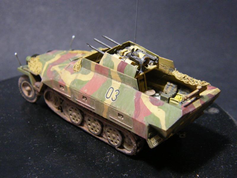 Sdkfz 251/21 Hasegawa/cmk - Terminé - Page 2 Dscf1146