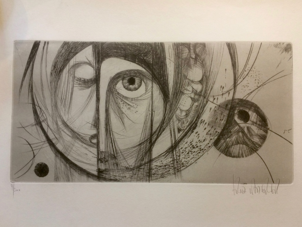 Abstract Etching by Fritz Laderer Img_1310