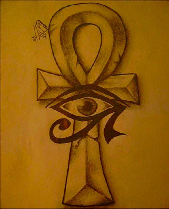 10 symboles spirituels Ankh10