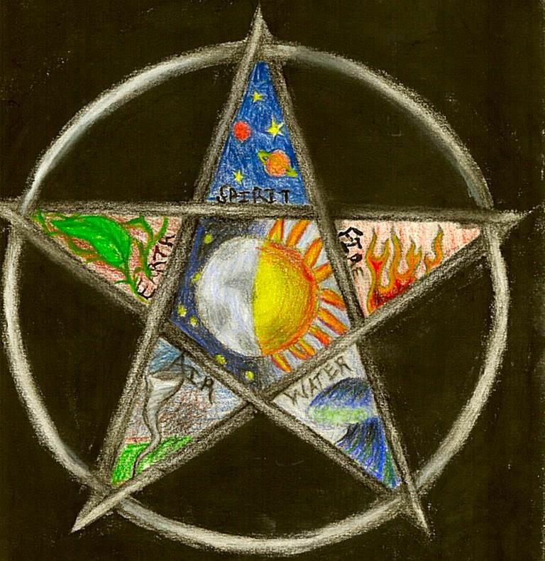 10 symboles spirituels Pentac10