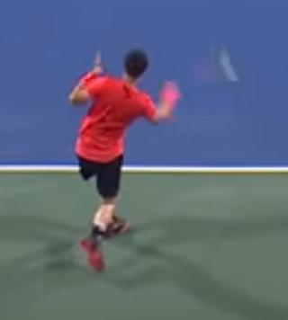Matteo Berrettini Forehand  Scherm25