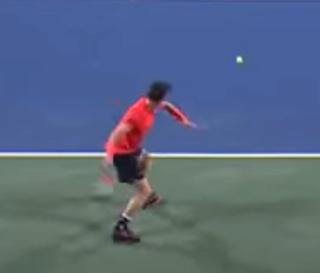 Matteo Berrettini Forehand  Scherm26