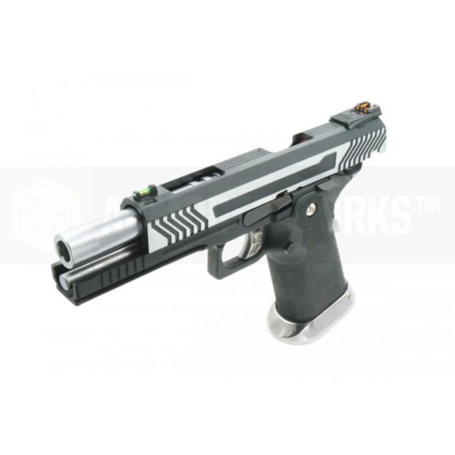 Arme de poing en complement d'une carabine à air comprimé - Page 2 Aw_hx111