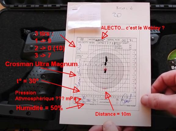 Comment interpréter le premier carton constructeur d'une arme neuve (exemple sur Zoraki HP 01) Captur10