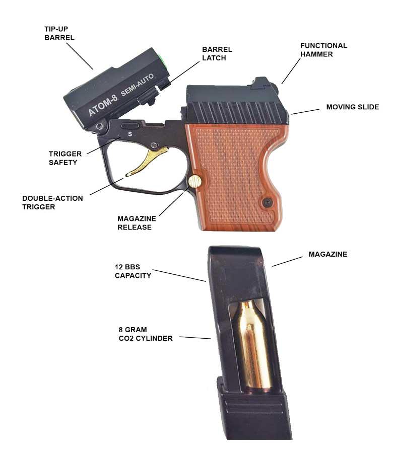 GOBLIN ATOM-8 Le plus petit pistolet CO2 du monde... Ham-2-10