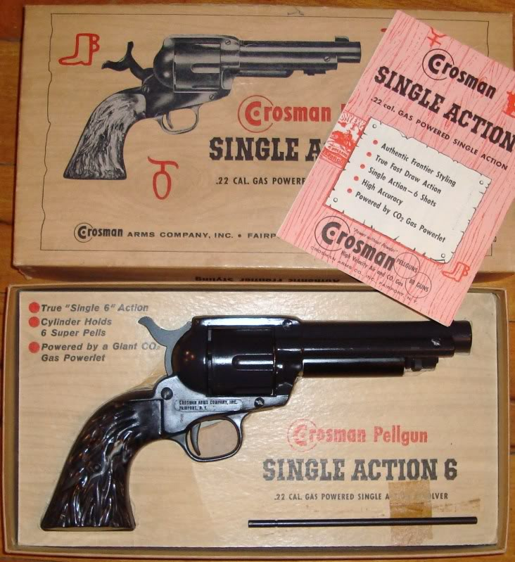 Crosman SA6 (Single Action 6) Sa6210