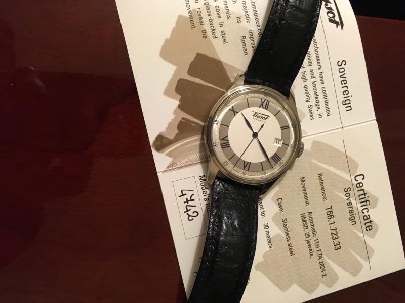 Tissot - [Vends] Tissot Heritage Sovereign - 620€ Img_4519