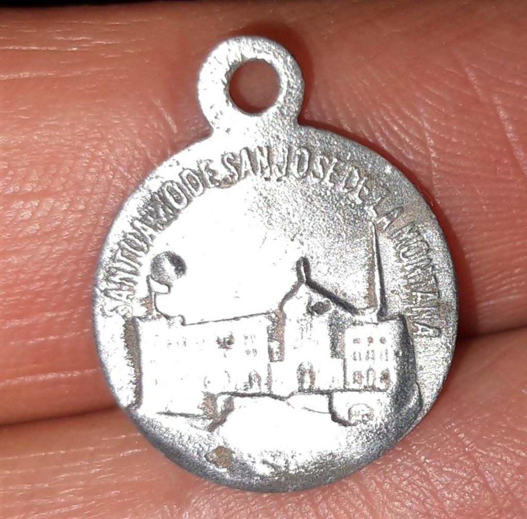 Datación medallita S. José de la Montaña 20200811