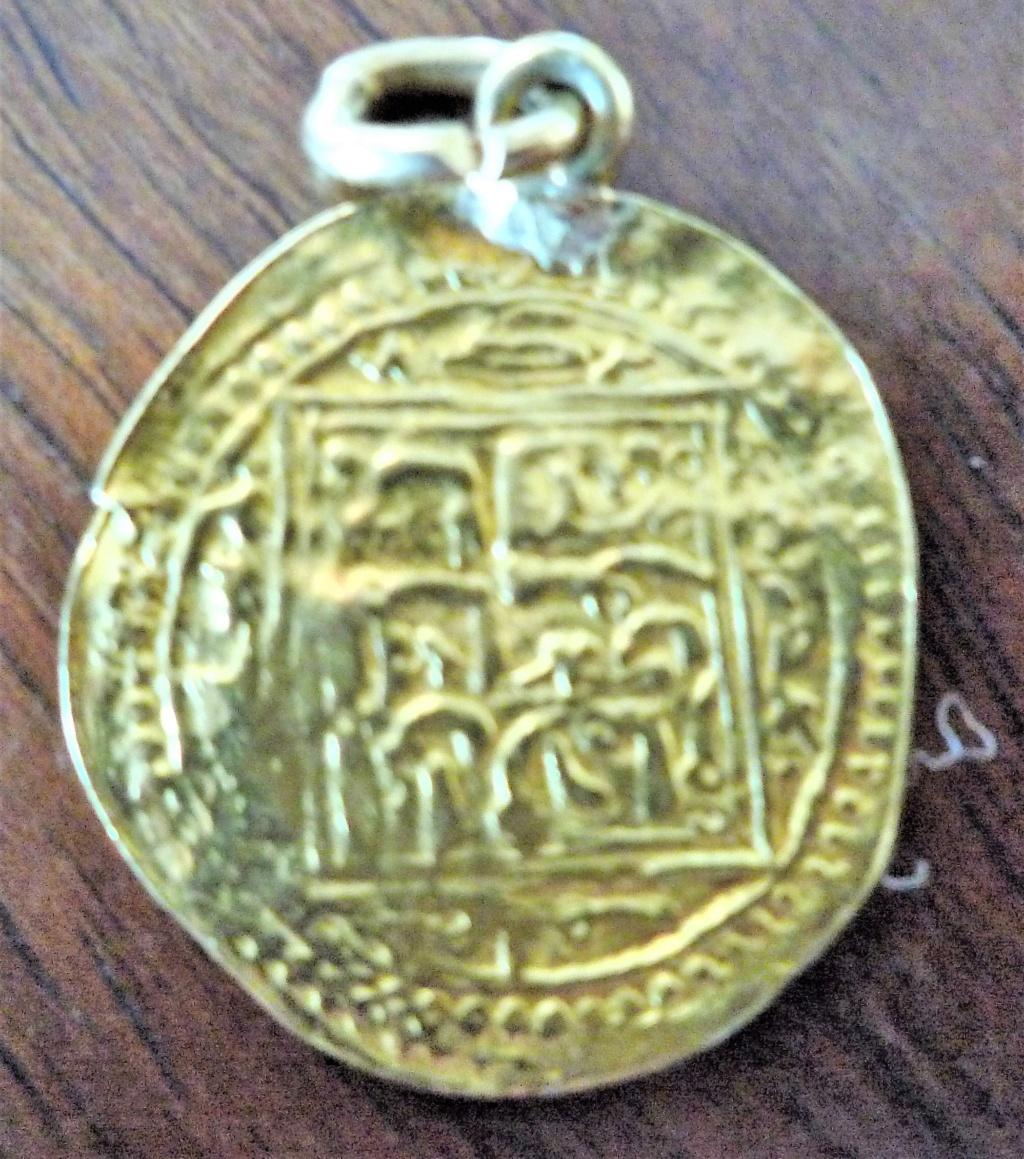 Moneda de oro para identificar. 4_210