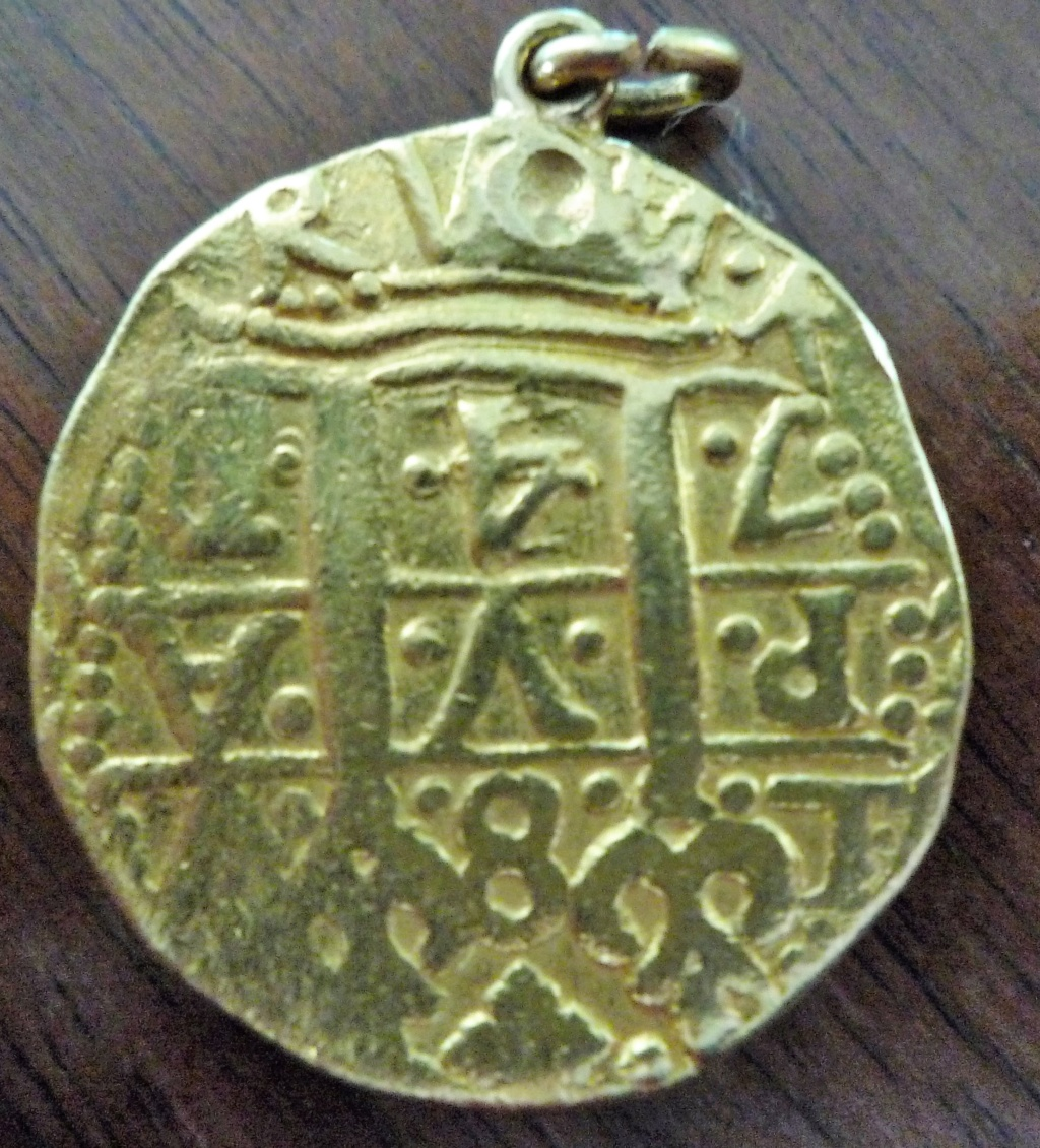Moneda de oro para identificar. 8_escu10