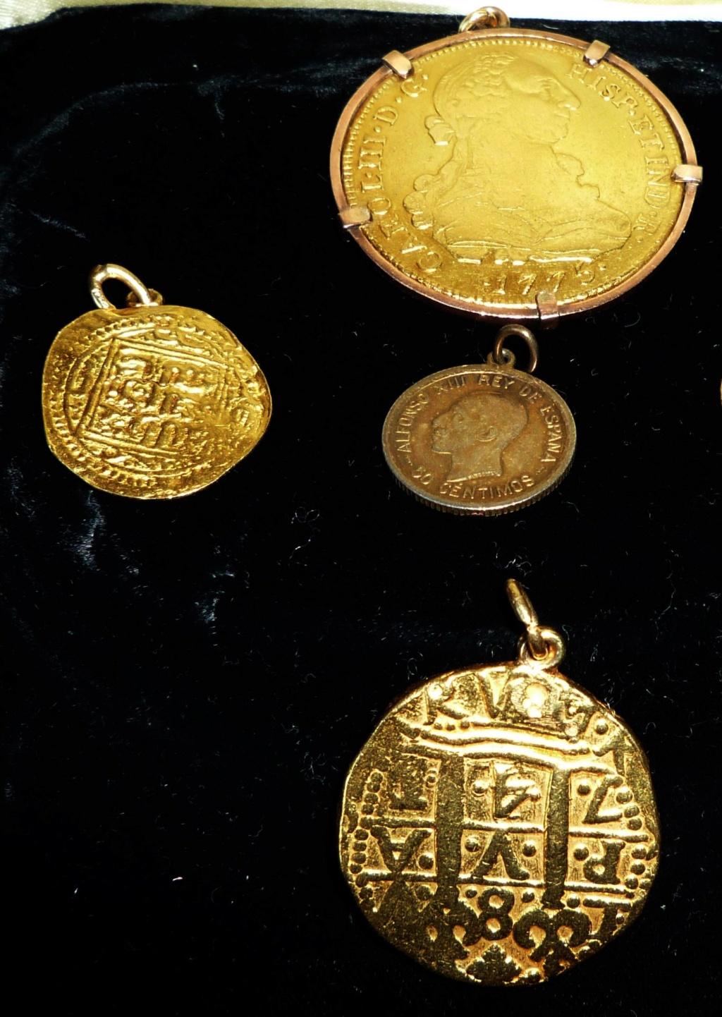 Moneda de oro para identificar. Pulser10