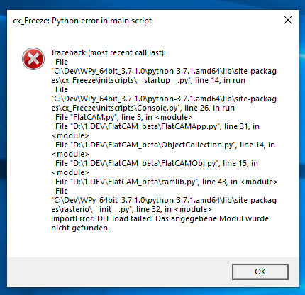 [EX-100 - v2.1.7.0] [RS5 Build 17763_x64] Some Programs Startup error Unbena11