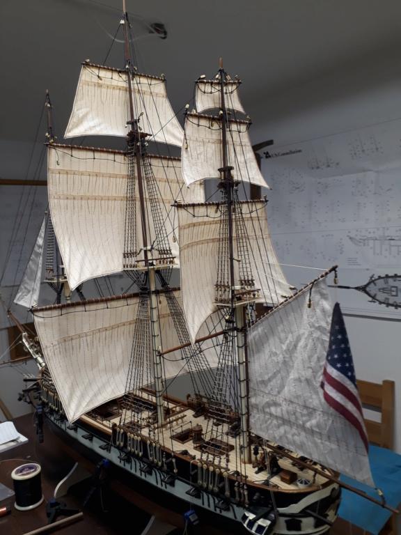 USS CONSTELLATION von Artesania Latina - Seite 11 20190138