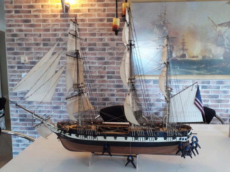 USS CONSTELLATION von Artesania Latina - Seite 13 20200210